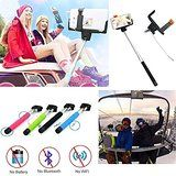 Amazon.com: Ultra Light Selfie Stick Monopod with Bluetooth Shutter button + FREE Carry Wrist Strap - Stainless Steel Phone Holder [Ecofriendly and Carbon fiber] Self Shooting Portrait Adjustable Foldable Mini Aluminum Extendable Pole - Rechargable Battery 120 mAh - Best for iPhone 5 5s 5c 6 6s Plus GoPro Android Digital SLR Camera Samsung Galaxy 3 4 5 6 Smartphone Note 2 3 4 (Black): Cell Phones & Accessories