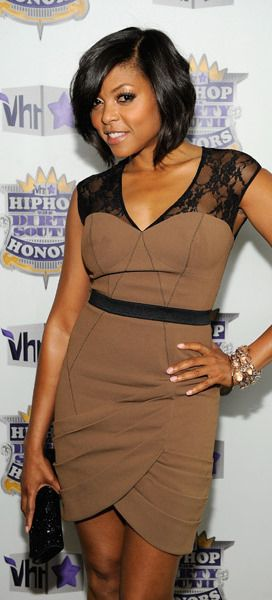 Taraji P. Henson In Tracy Reese Fall 2010 at the 2010 VH1 Hip Hop Honors, June 2010