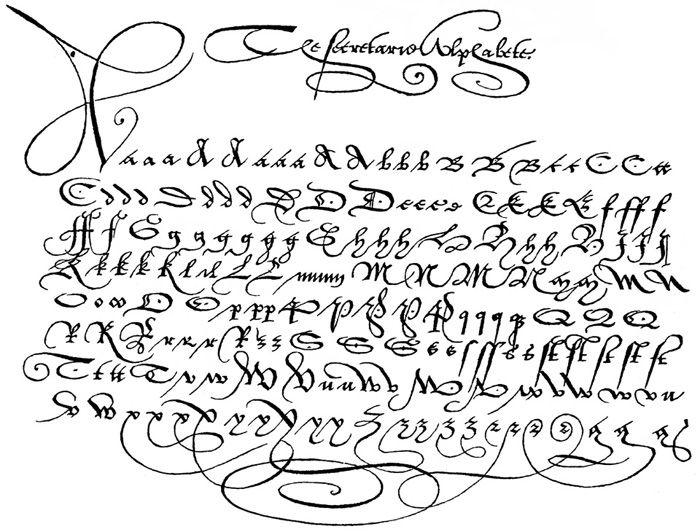 Old English Latin alphabet