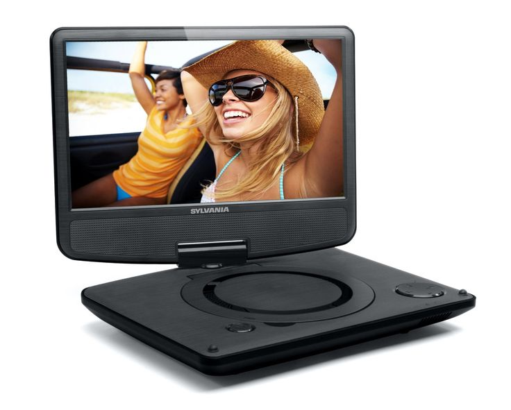 save 75 on sylvania sdvd9000b2 9 inch portable dvd player. Black Bedroom Furniture Sets. Home Design Ideas