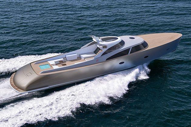 Новая суперъяхта R110 от Rapsody Yachts