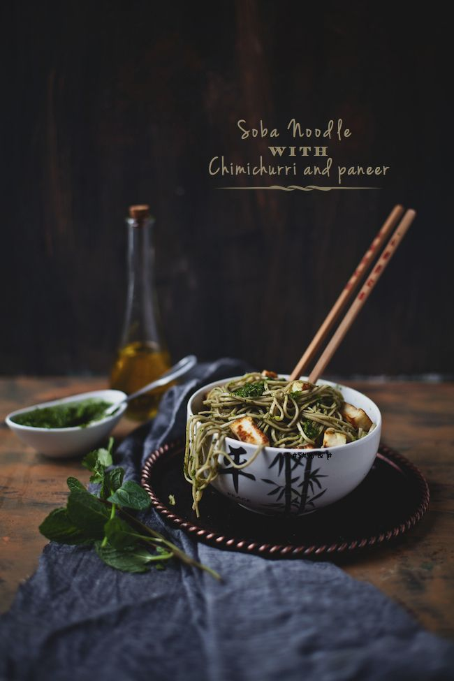 noodles con salsa verde chimichurri. si no te gusta el picante omite el jalapeño o añádele un chili más suave #foodtomeetyou