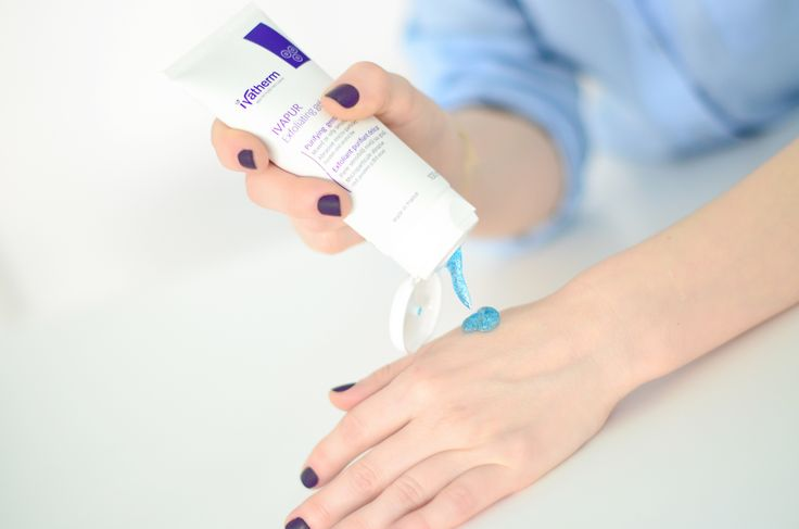 IVAPUR Exfoliating Gel for mixed an oily skin #ivatherm #oilyskin #acne #exfoliating #microparticles