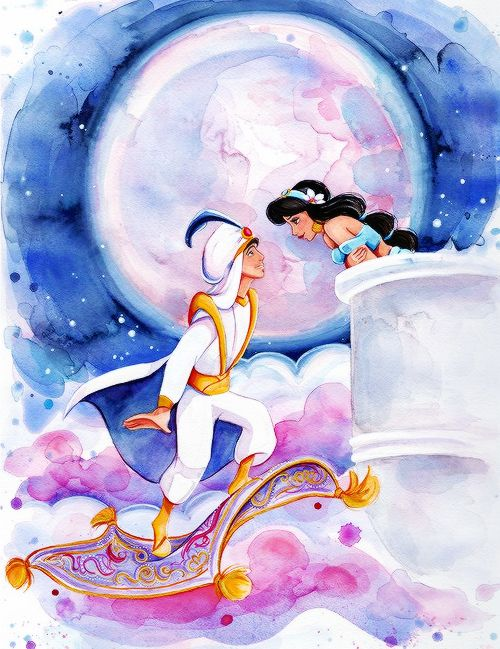 She is clothed with strength and dignity - mickeyandcompany: A Whole New World, by Megan...
