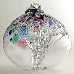 Witch balls, art glass