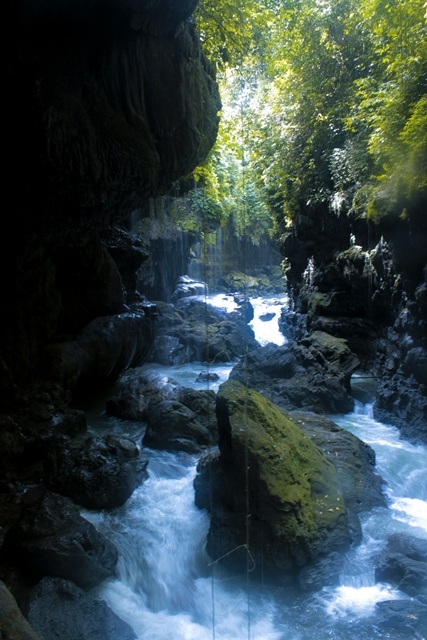 Green Canyon, West Java, #Indonesia