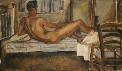 NUDE, 1940 YIANNIS TSAROUHIS