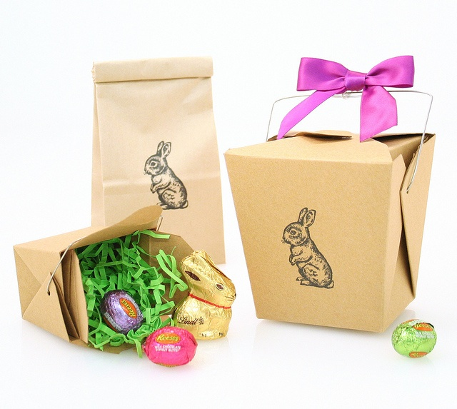116 best easter ideas we love images on pinterest easter ideas kraft take boxes and coffee bags with an adorable bunny stamp are great for easter gifts negle Choice Image