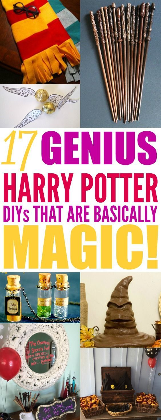Harry Potter is a beloved story that continues to gain fans! I am so excited to throw a Harry Potter party! These DIY party ideas are brilliant! I didn't realize how you can make cheap and easy DIY party decorations for a Harry Potter theme. I can go to a dollar store and pick up stuff to transform my home into an epic magical party! Harry Potter party is perfect for a birthday or a fun Halloween party! I can't wait to have my own! Pinning for later! #harrypotter #harrypotterparty...