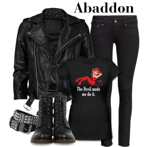 supernatural abaddon outfit - Google Search