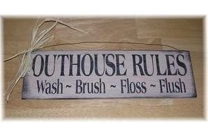 outhouse bathroom decor - Bing Images