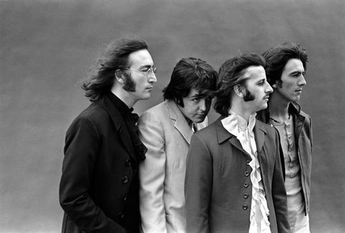 Picture of The Beatles — Full Frame / Mad Day Out: July 28, 1968 - © Don McCullin.