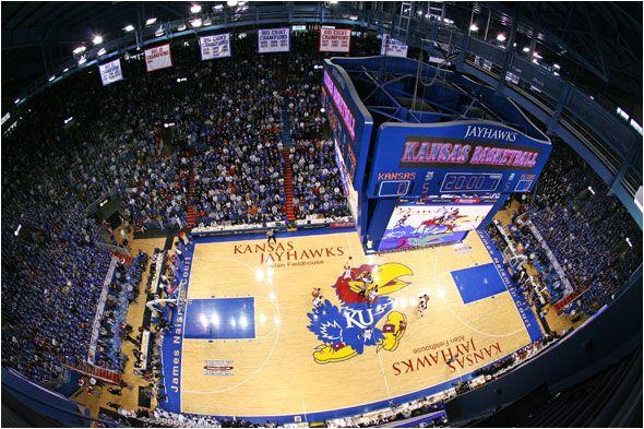 The Phog at Allen Field House.  Jayhawks. Rock Chalk. University of Kansas Basketball