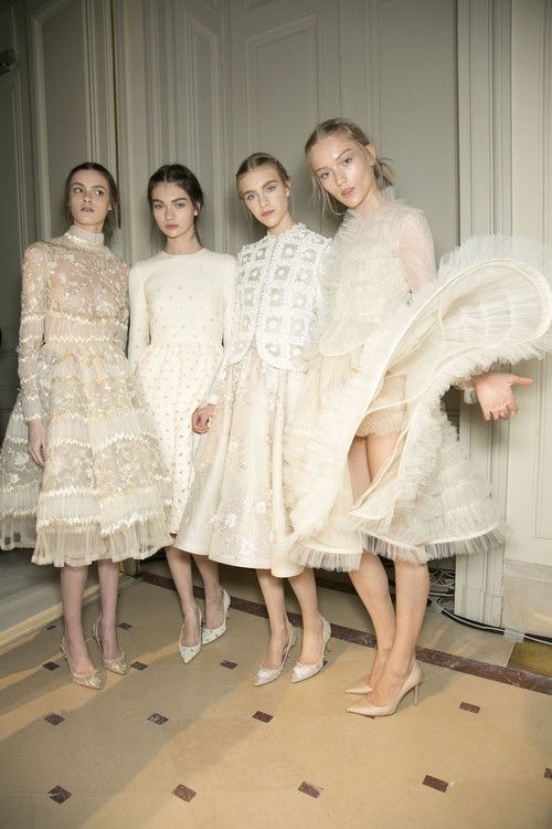 Valentino Spring 2013 couture backstage                                                                                                                                                      More
