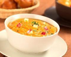 Soupe de pommes et carottes (facile, rapide) - Une recette CuisineAZ