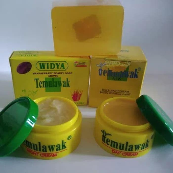 Cream Temulawak Original Paket Cream Temulawak Asli Kemasan Krim Perawatan Wajah