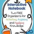 2 FREE Interactive Notebook Activities: Activating, Acquir
