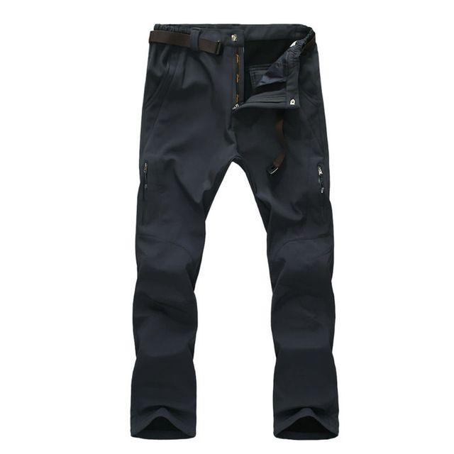 Outdoor Hiking Pants Sportswear Winter Warm Pant Soft Shell Waterproof Pants Men's Windproof Climbing Trousers  L XL 2XL 3XL 4XL