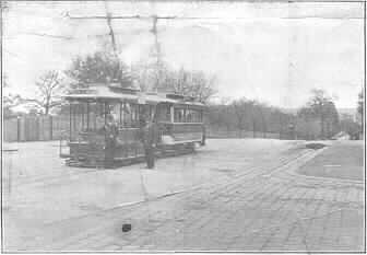 PH 12041. Tram terminus, Irving Road, ca. 1917.