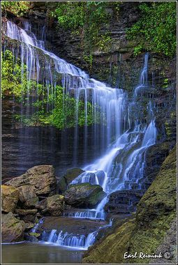 Waterfall in Ontario, Canada  #Waterfalls #BeautifulNature #NaturePhotography #Nature #Photography #Travel #Canada