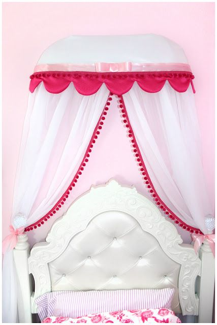 Toddler Princess Room - Bed Crown (Instructions)