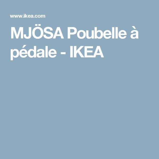 MJÖSA Poubelle à pédale - IKEA