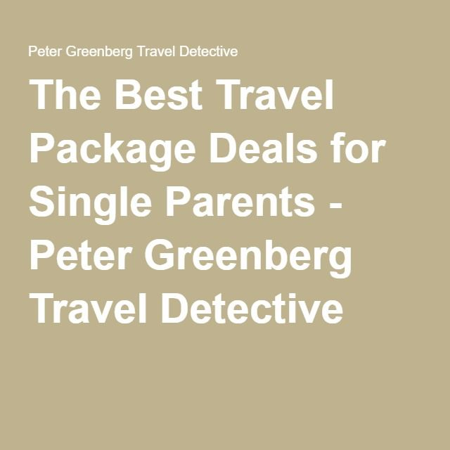 vacation packages for single parents Here at happy traveler, we love sharing our best advice for traveling with kids as a solo parent, and we are always looking for new sources of inspiration there are tons of blogs out there about single parenting, and many address travel with kids, but few talk about combining the two here are some of our.