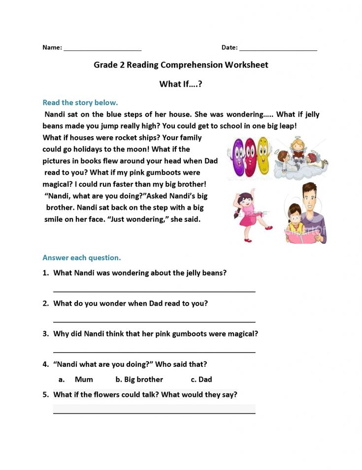 2nd Grade Reading Worksheets | 2nd grade reading ...