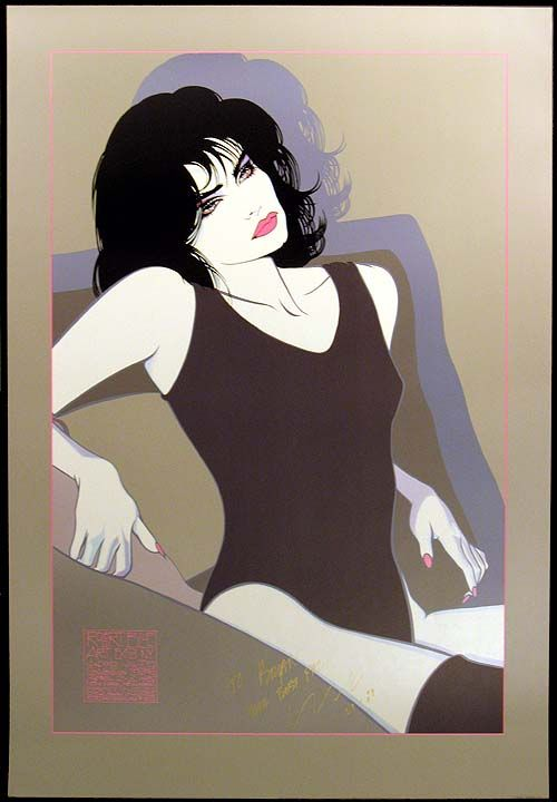 Nicole by Robert Blue. His style is similar to Nagel's.