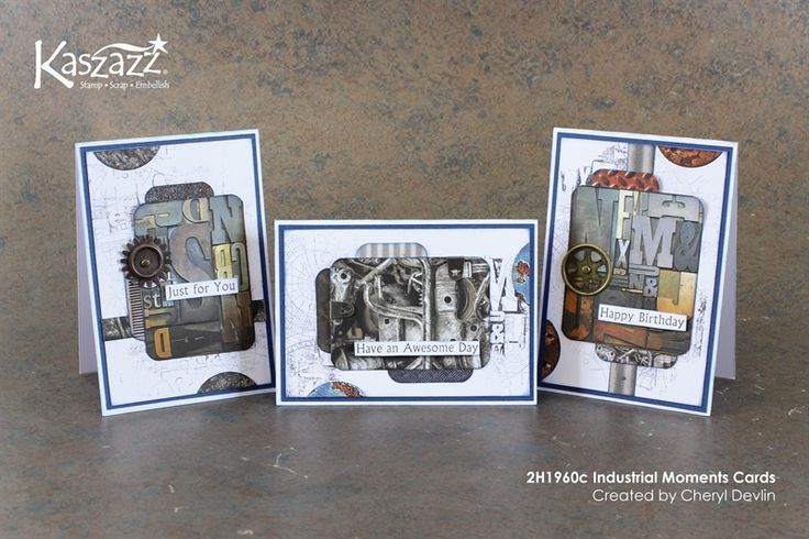 2H1960c Industrial Moments Cards