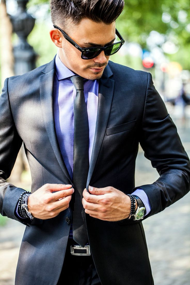 Slim fit black suit! Elite Fashion Budapest :)