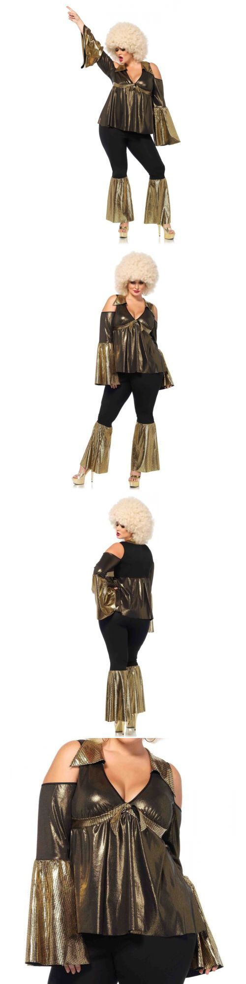 Halloween Costumes Women: Disco Costume Adult 70S Diva Queen Halloween Fancy Dress -> BUY IT NOW ONLY: $54.95 on eBay!