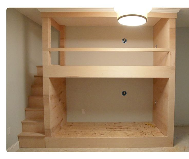 Best Lake House Bunk Room Twin Bed On Top And Full Size On 400 x 300
