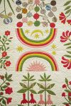 This pin of a beautiful botanical album quilt is from 1859, Nebraska. Isabel might enjoy seeing it.