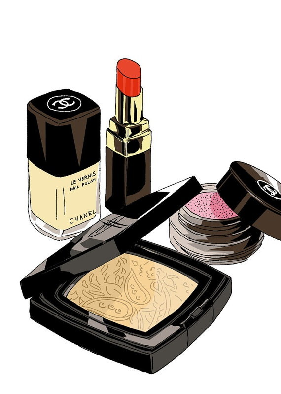 Chanel make up set. Chanel is my favourite brand and that's why I actually want to have all of there stuf! But you can't :( The Chanel make up is great and you look like a France girl when you wear it.