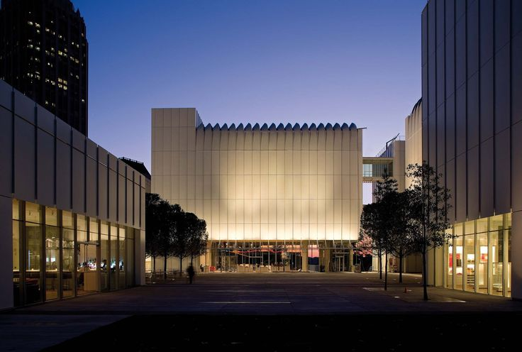 Renzo Piano Building Workshop - Projects - By Type - High Museum Expansion