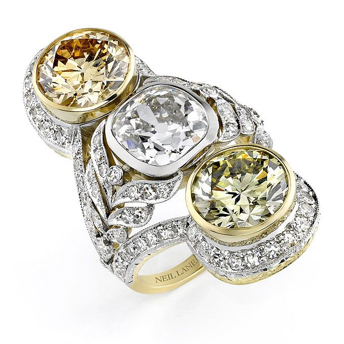 Over The Top Engagement Rings