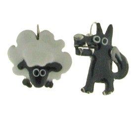 Boucles d'oreilles TARATATA. Bijoux créateurs. En vente en boutique et sur notre site internet : http://www.bijouterie-influences.com/32_Taratata