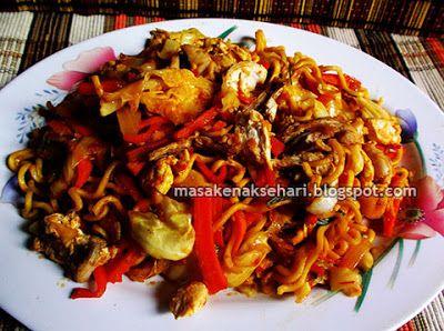 Mie Tek Tek Goreng Jawa - Resep Masakan Indonesia