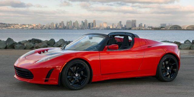 Tesla Roadster  - RoadandTrack.com