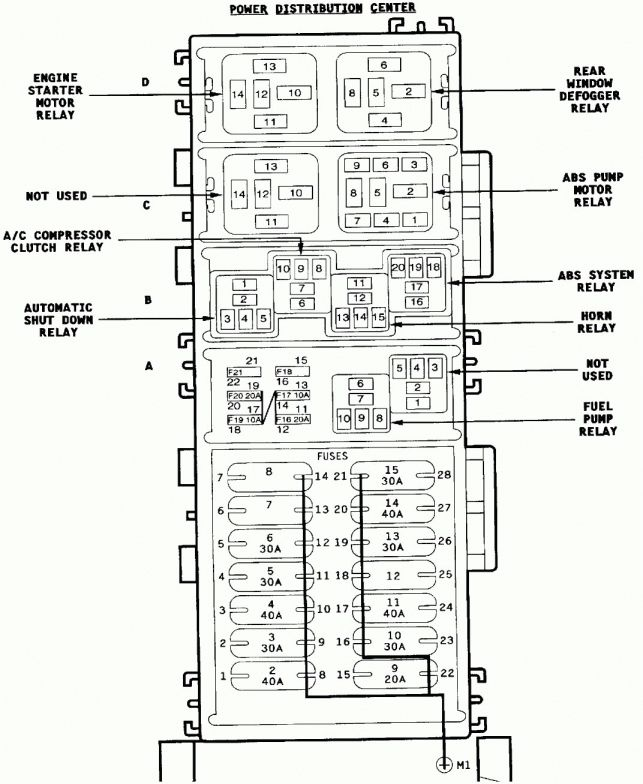 10 1999 Mack Truck Fuse Diagram Truck Diagram In 2020 With