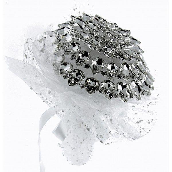 Fancy Brooch Bouquet Fascination - Silver