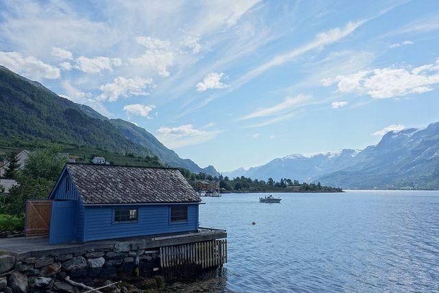 Blue view, Lofthus, Hardanger | Flickr - Photo Sharing!