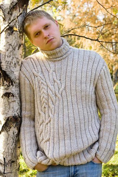Связать мужской свитер