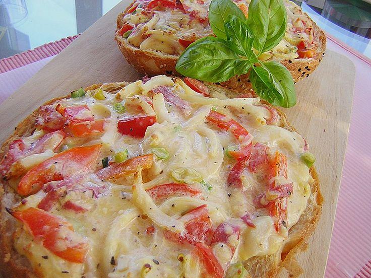 Sizilianische Fladenbrotpizza