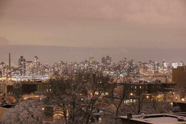 https://flic.kr/p/wLUDMZ | N.Y.C | Winter night over New York city.