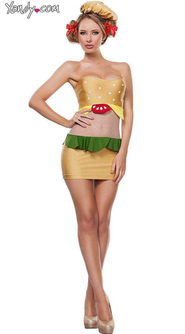 Sexy Burger   19 Sexy Costumes That Have Gone Way Too Far