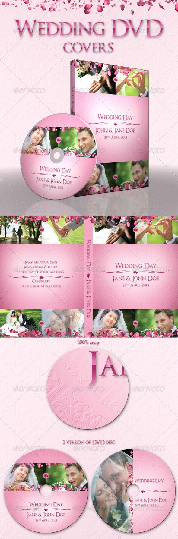 135 best cd dvd templates images on pinterest cd cover wedding dvd covers pronofoot35fo Choice Image