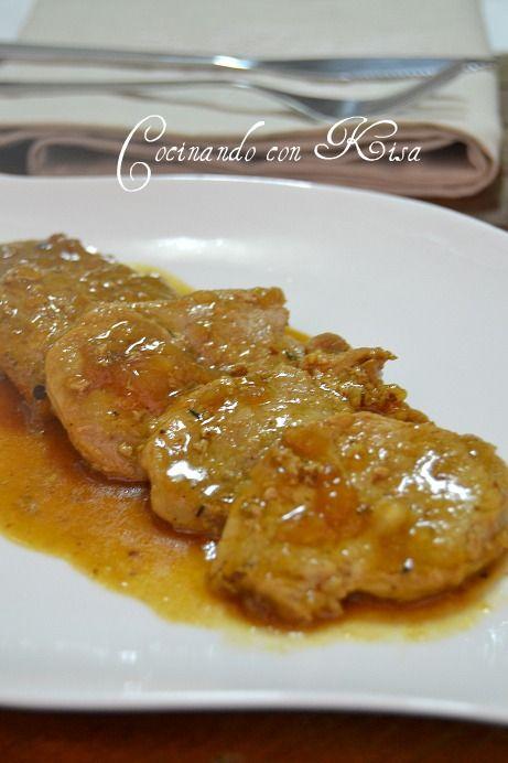 Este solomillo esta buenísimo!!, es una receta de MªJose del blog Mjcoriablog y hace poco la vi en el blog de Bea La cocina de Sebeair ...