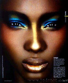 Carnival makeup Caribbean